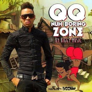"""""""Nuh Boring Zone - Single""""的封面"""