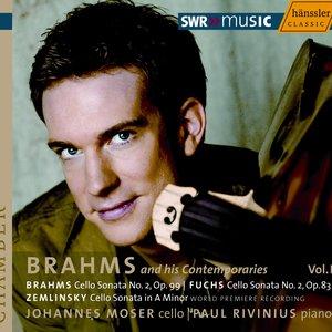 Image for 'Brahms / Fuchs / Zemlinsky: Cello Sonatas'