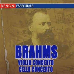 Image for 'Brahms: Violin Concerto Op. 77 & Violin and Cello Concerto Op. 102'