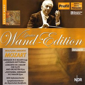 Image for 'Mozart: Serenata Notturna / Concerto for Flute and Orchestra / Posthorn Serenade'
