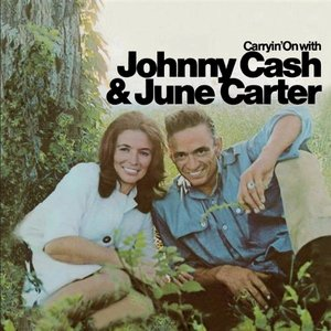 Image for 'Carryin' on With Johnny Cash & June Carter'
