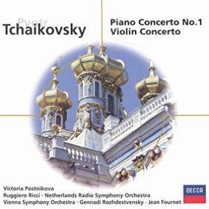 Image for 'Tchaikovsky: Piano Concerto No.1; Violin Concerto'