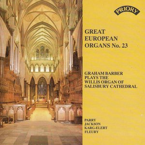 Image for 'Great European Organs No. 23: Salisbury Cathedral'