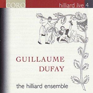 Bild för 'Hilliard Live, Vol. 4 - Guillaume Dufay'