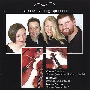 Image for 'Cypress String Quartet: Debussy, Suk, Cotton'