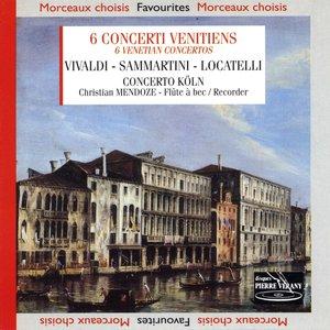 Bild für 'Vivaldi locatelli samartini : Six concerti venitiens'