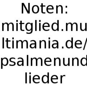 Image pour 'psalmenundlieder'
