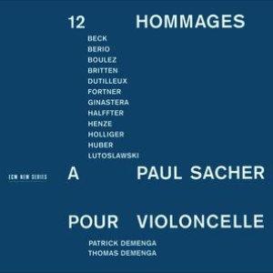 Image for 'Ginastera, Boulez, Britten: 12 Hommages à Paul Sacher pour Violoncelle'