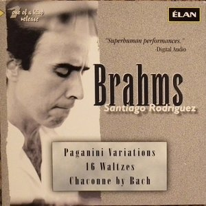 Image for 'Brahms: Paganini Variations; 16 Waltzes; Chaconne By Bach'