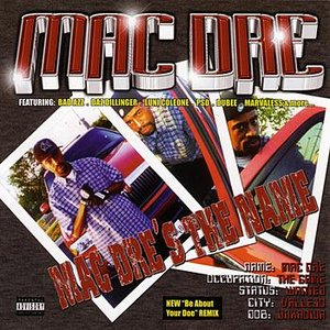 Bild für 'Mac Dre's the Name'