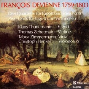 Immagine per 'Devienne: Chamber Music for Bassoon & Strings'