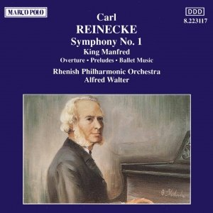 Image for 'REINECKE : Symphony No. 1 / King Manfred'