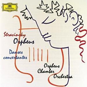 """""""Stravinsky: Orpheus; Danses concertantes""""的封面"""