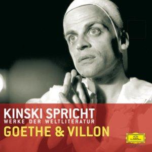 Image pour 'Kinski spricht Goethe und Villon'