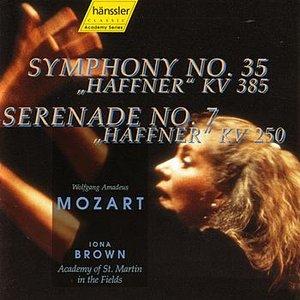 """Image for 'Symphony #35 K. 385 & Serenade #7 K. 250 """"Haffner""""'"""