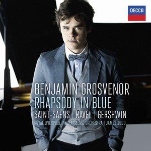 Image for 'Benjamin Grosvenor - Rhapsody In Blue: Saint-Säens, Ravel, Gershwin'