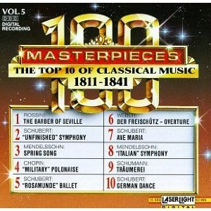 Image for '100 Masterpieces Vol. 5: The Top 10 Of Classical Music 1811-1841'