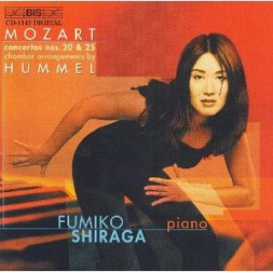 Image for 'Mozart: Piano Concertos Nos. 20 And 25 (Arr. Hummel For Chamber Ensemble)'