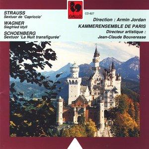"""Bild för 'Strauss: Sextuor, Wagner: Siegfried Idyll, Schoenberg: Verklärte Nacht"""", Kammerensemble de Paris dir. Armin Jordan'"""