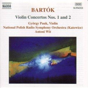 Image for 'BARTOK: Violin Concertos Nos. 1 and 2'