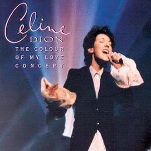 Image pour 'The Colour Of My Love Concert'