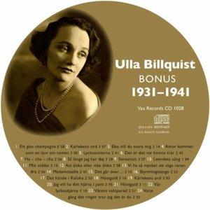 Immagine per 'Den Kompletta Ulla Billquist 1931-1941 (Bonus)'