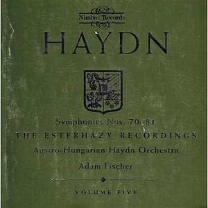 Image for 'Haydn: Symphonies Nos. 70-81'