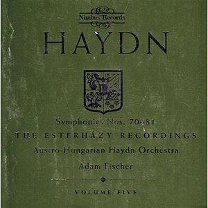 Image for 'Haydn: Symphonies Nos. 70-81'