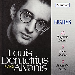 Image for 'Louis Demetrius Alvanis plays Brahms'