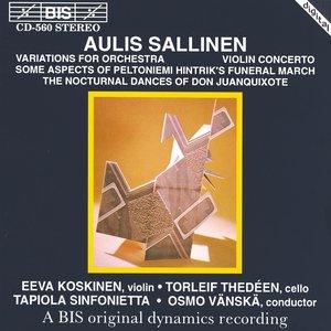 Image for 'Sallinen: Variations for Orchesta, Op. 8 / Violin Concerto, Op. 18'