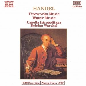 Image for 'HANDEL: Fireworks Music / Water Music'