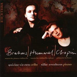 Image for 'Brahms Sonata, Hummel Sonata, Chopin Polonaise Brillant'