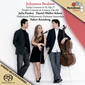 Image for 'BRAHMS: Violin Concerto / Double Concerto'