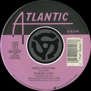 Image for 'Barely Breathing / Wishful Thinking [Digital 45]'