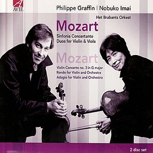 Image for 'Duo for violin & viola No. 2 in B flat major K 424: Adagio - Allegro'