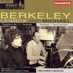 Image for 'Berkeley: Symphony No. 1 / Serenade / Berkeley, M.: Horn Concerto / Coronach'