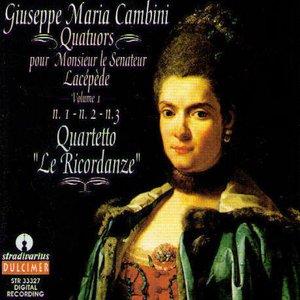 Imagem de 'Quartetto N.1 In Mi B. Maggiore : II. Larghetto'