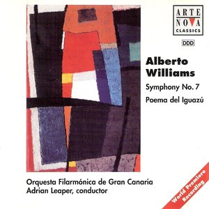 Image for 'Symphony No. 7 / Poema Del Iguazú (Orquesta Filarmónica De Gran Canaria feat. conductor: Adrian Leaper)'