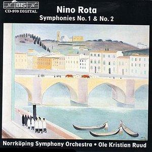 """""""ROTA: Symphonies Nos. 1 & 2""""的封面"""