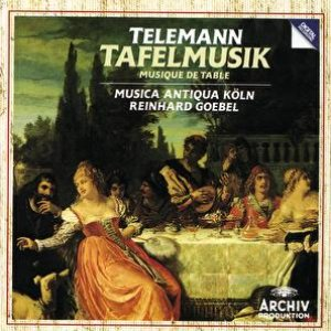 Image for 'Telemann: Banquet Music in three Parts'