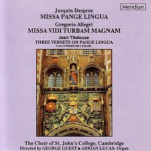 Image for 'Missa Pange Lingua: Kyrie'
