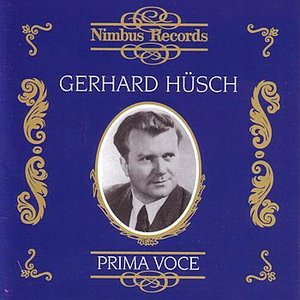Image for 'Prima Voce - Gerhard Hüsch'