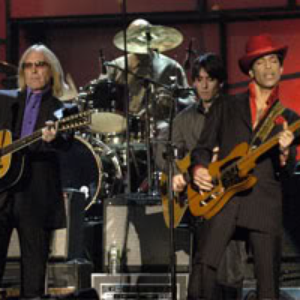 Tom Petty, Jeff Lynne, Steve Winwood, Dhani Harrison and Prince