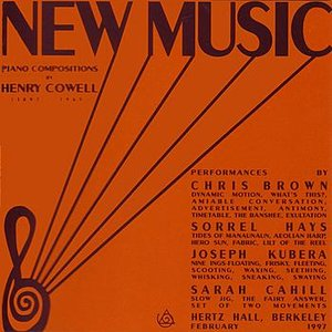Image for 'New Music: Piano Compositions By Henry Cowell'