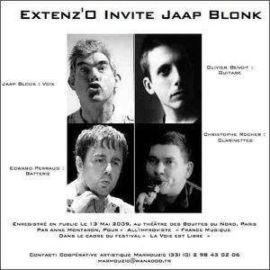 Imagen de 'Extenz'O + Jaap Blonk'