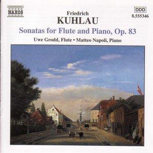 Bild für 'KUHLAU: Flute Sonatas Op. 83'