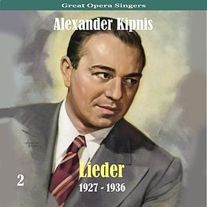 Image for 'Great Opera Singers / Lieder  / 1927 - 1936, Volume 2'