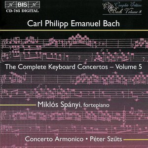 Image for 'Bach, C.P.E.: Keyboard Concertos (Complete), Vol.  5'