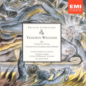 Image for 'Vaughan Williams: Job, Concerto for two pianos & orchestra'