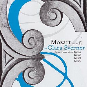 Image for 'Clara Sverner Performs Piano Sonatas by Mozart'